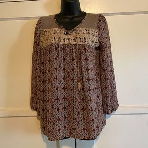 Full Tilt Peasant Shirt size Small - As Is